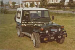 Personalizzazioni, modifiche e allestimenti G-Trapper Gandin per tutti i tipi di veicoli. Qui vediamo una Delta Mini Cruiser G-Trapper Gandin con allestimento medio. http://www.g-trapper.com