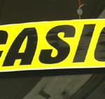 cartelli con calamita auto vetro cristallo