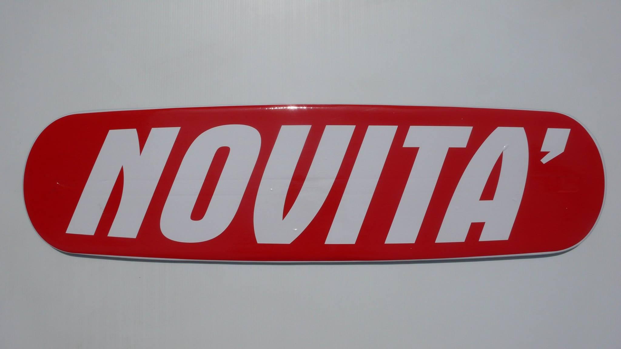 scritte magnetiche novità sfondo rosso scritta bianca www.g-trapper.com
