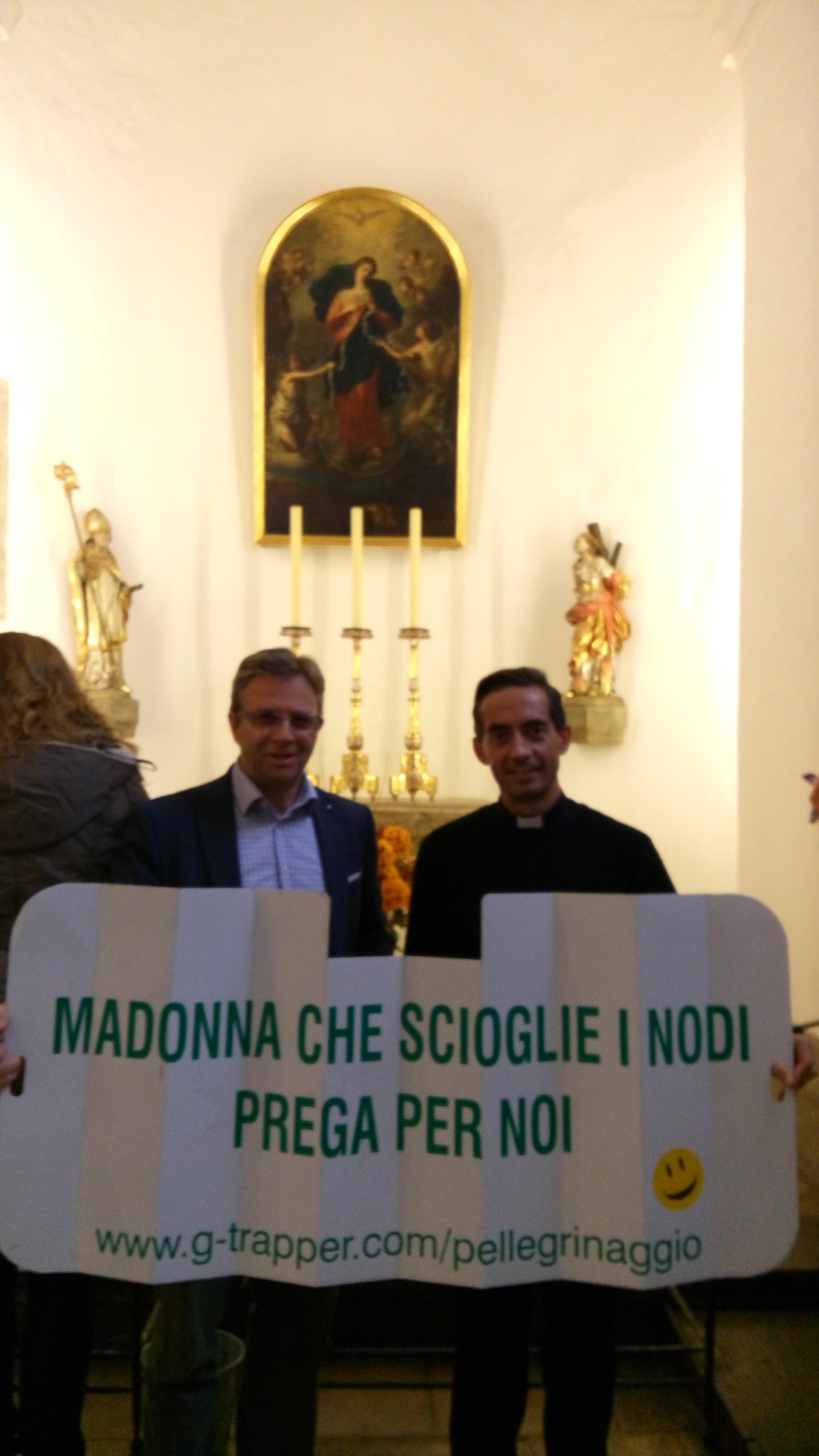 Madonna che scioglie i nodi pellegrinaggio viaggio Augsburg Augusta www.g-trapper.com