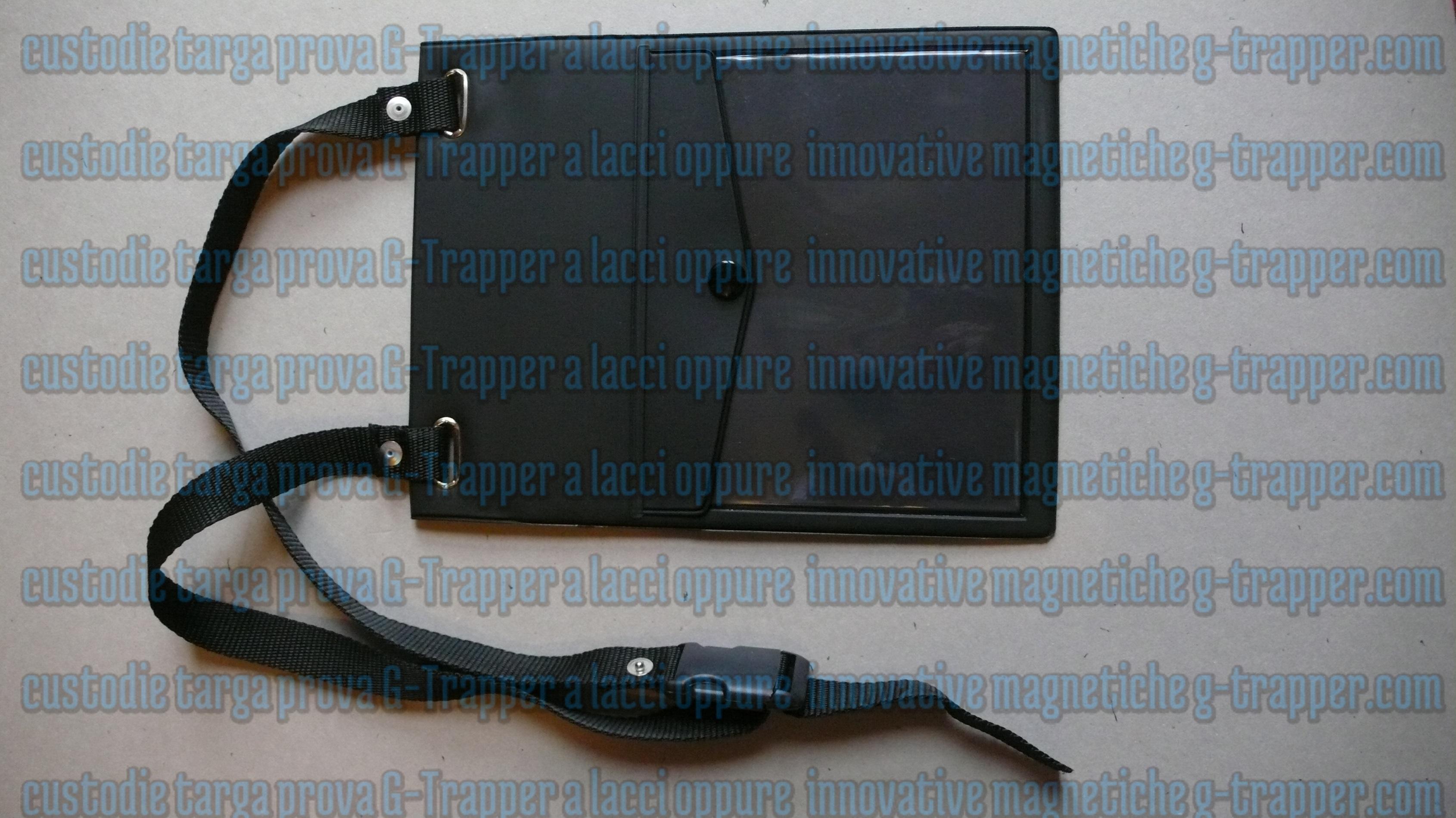 Targa prova: come la sistemiamo?  Legata, oppure magnetica, con i porta targa prova magnetici G-Trapper g-trapper.com