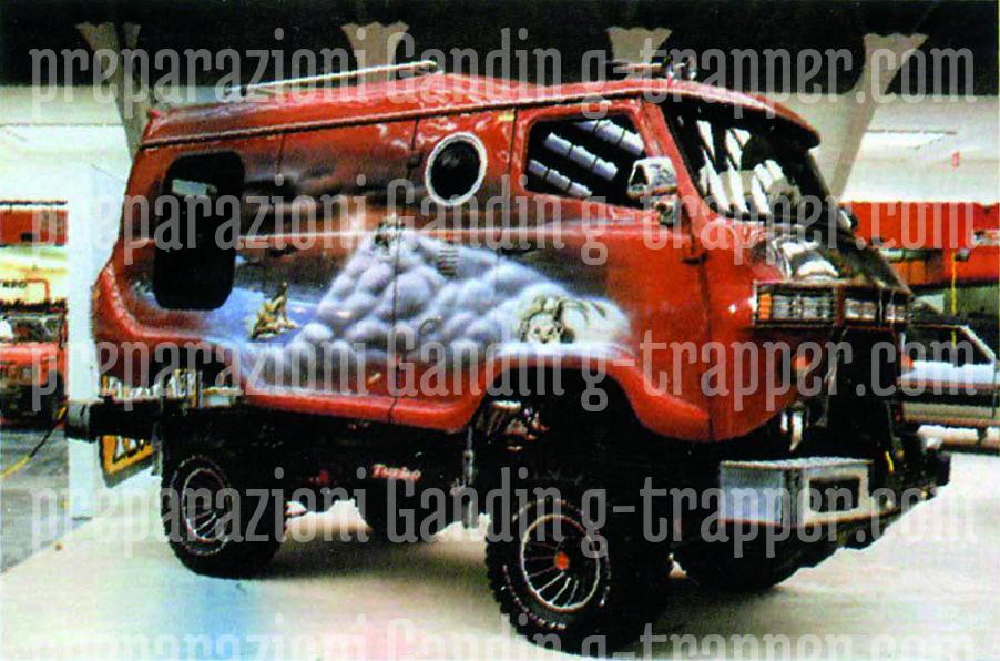 Preparazioni speciali per qualunque tipo di veicolo. Sport, tempo libero, cinema, lavoro. con G - Trapper g-trapper.com g-trapper.com G-Trapper Gandin Auto Gandin Service
