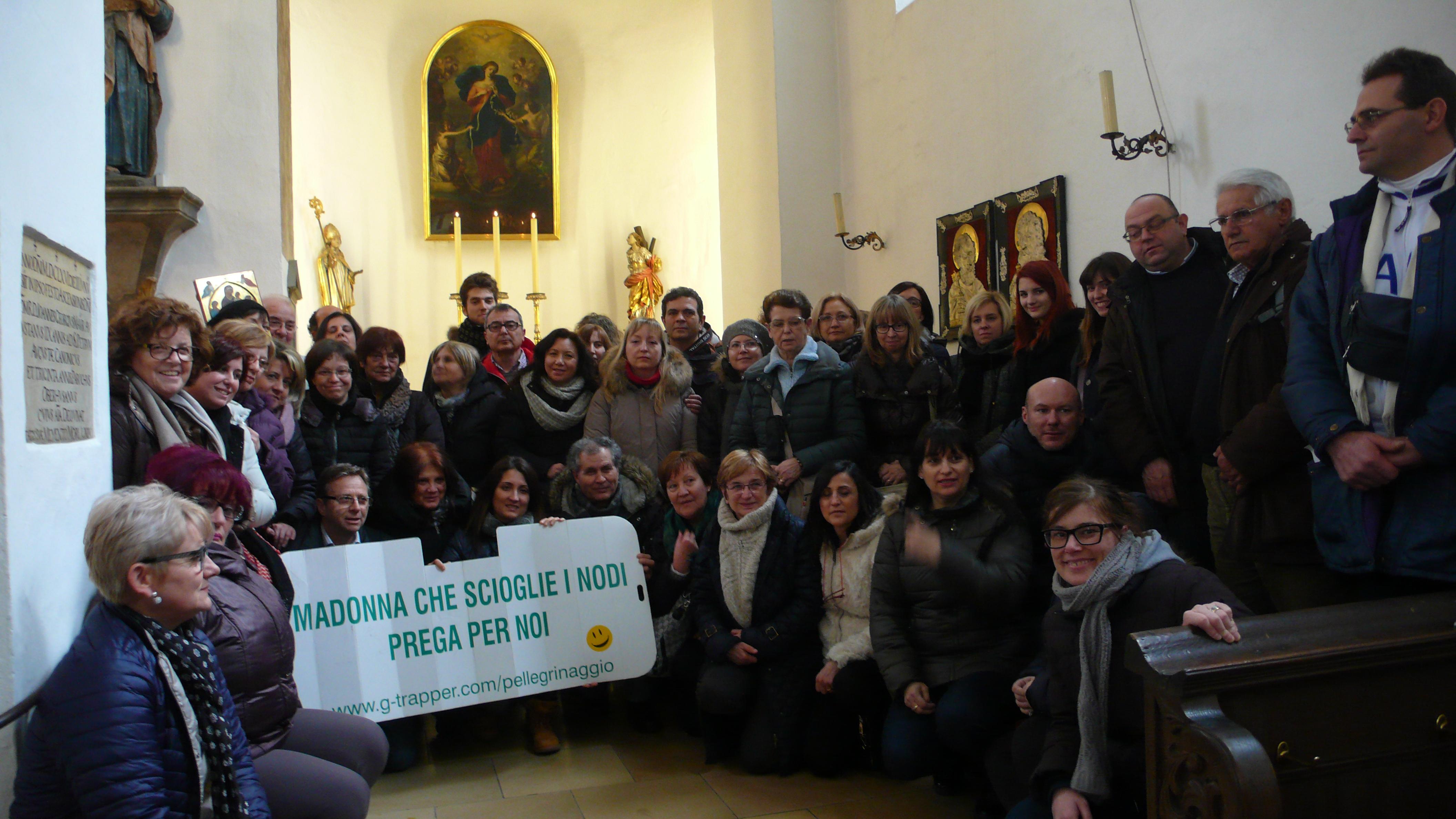Gite pellegrinaggi da Santa Maria che scioglie i nodi, con partenze da varie città d'Italia e in diverse date dell'anno