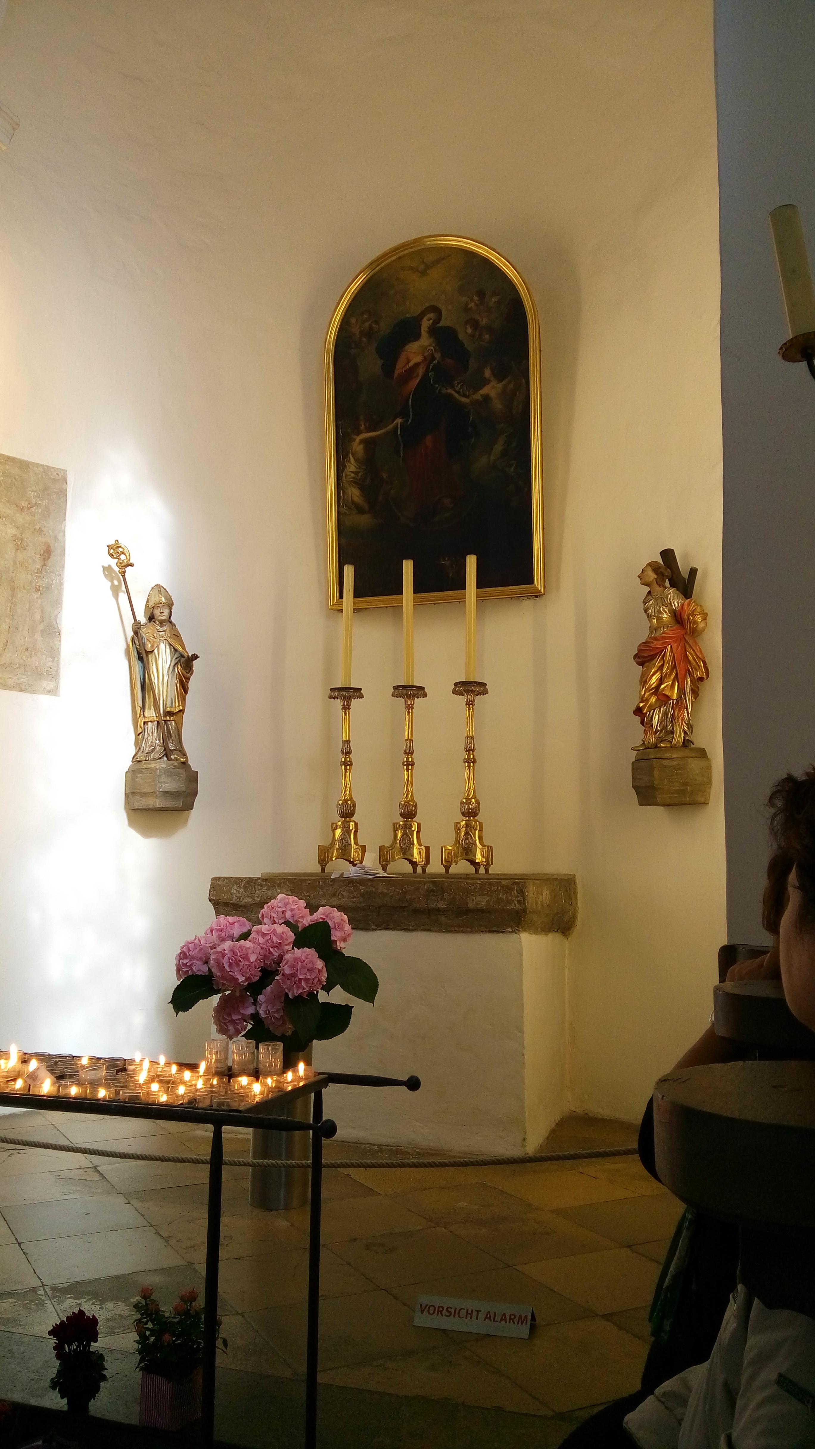 Esperienze dirette in occasione dei pellegrinaggi dell'equipe G-Trapper dalla Madonna che scioglie i nodi ad Augsburg, in Germania